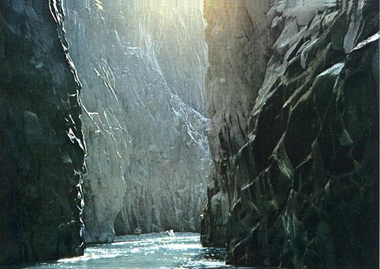 Alcantara - The gorges of the river