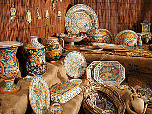 Caltagirone - Typical Ceramics
