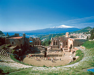 Taormina - Greek Theatre, Etna Mountain, Jonic Coast